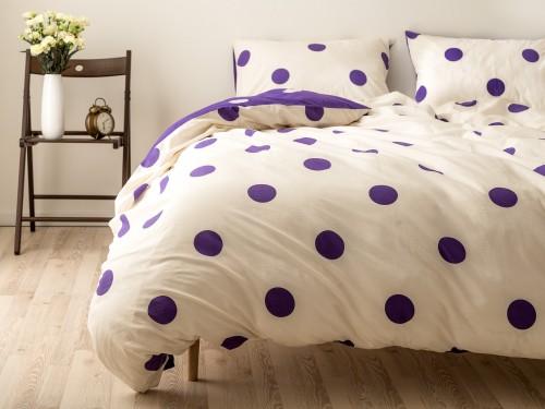 Polka Набор постельного белья с узором в горошек