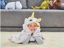 Одеяло с капюшоном Единорог