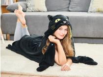 Одеяло с капюшоном Кот