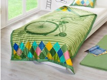 Verde Одеяло детское «Велосипед»