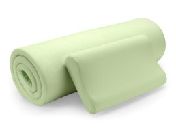 Комплект ортопедический топпер и ортопедическая подушка Renew Eucalyptus