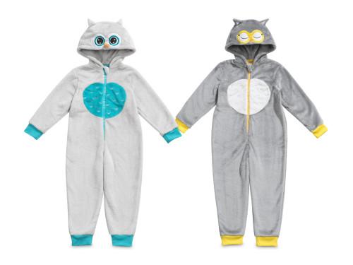 Детская пижама-комбинезон Эмоциональные Совушки