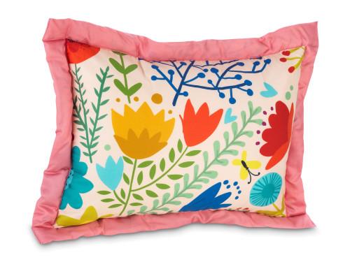 Классическая детская подушка Лана Цветущий сад