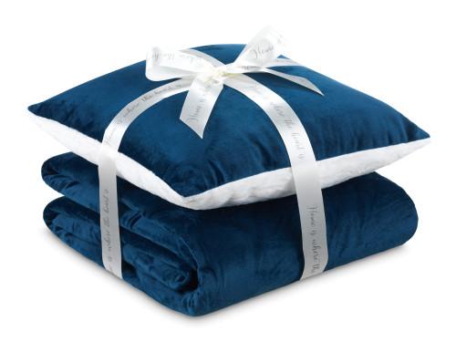 Набор подушка и одеяло Теплые объятия I 2020
