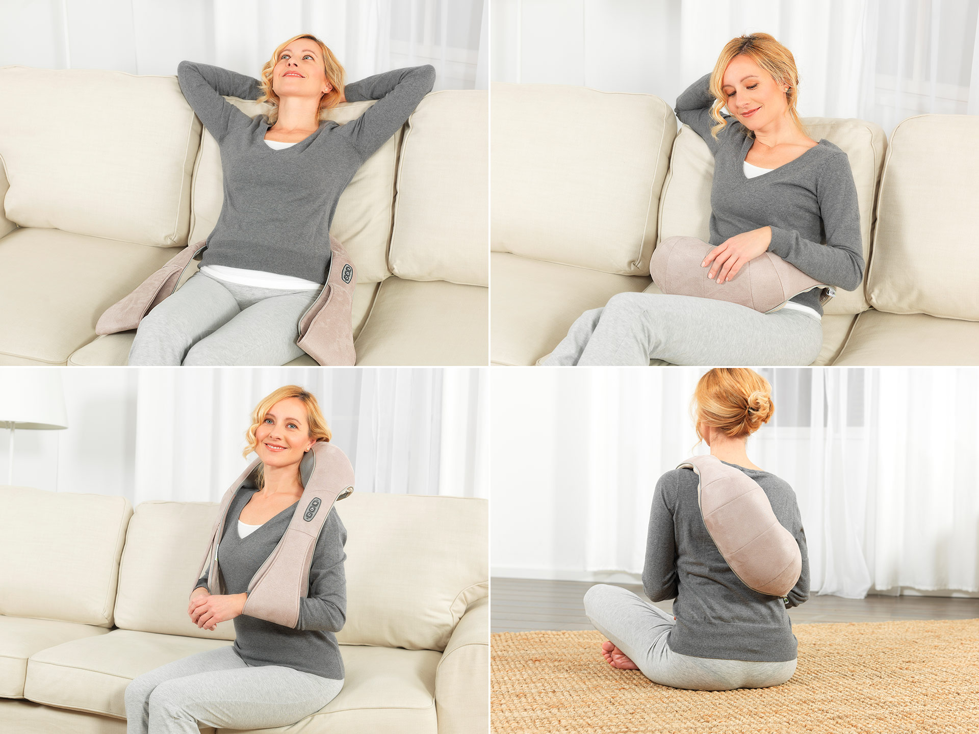 Wellneo 3D Full body shiatsu massager