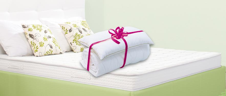 Одеяло и подушка в подарок!