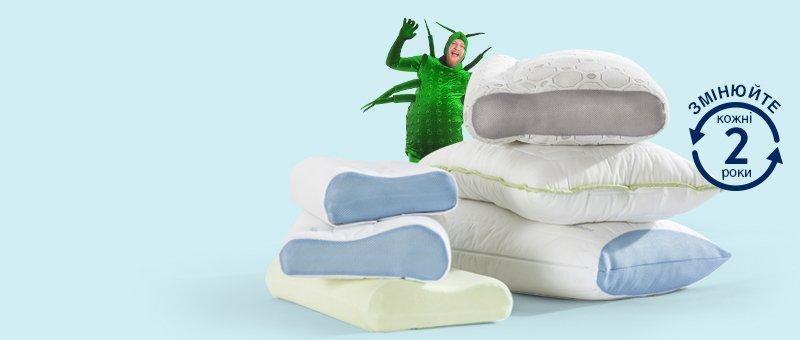 Бесплатная доставка на наши лучшие подушки!