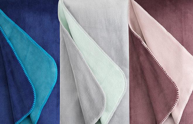 Dormeo Whipstitch Blanket
